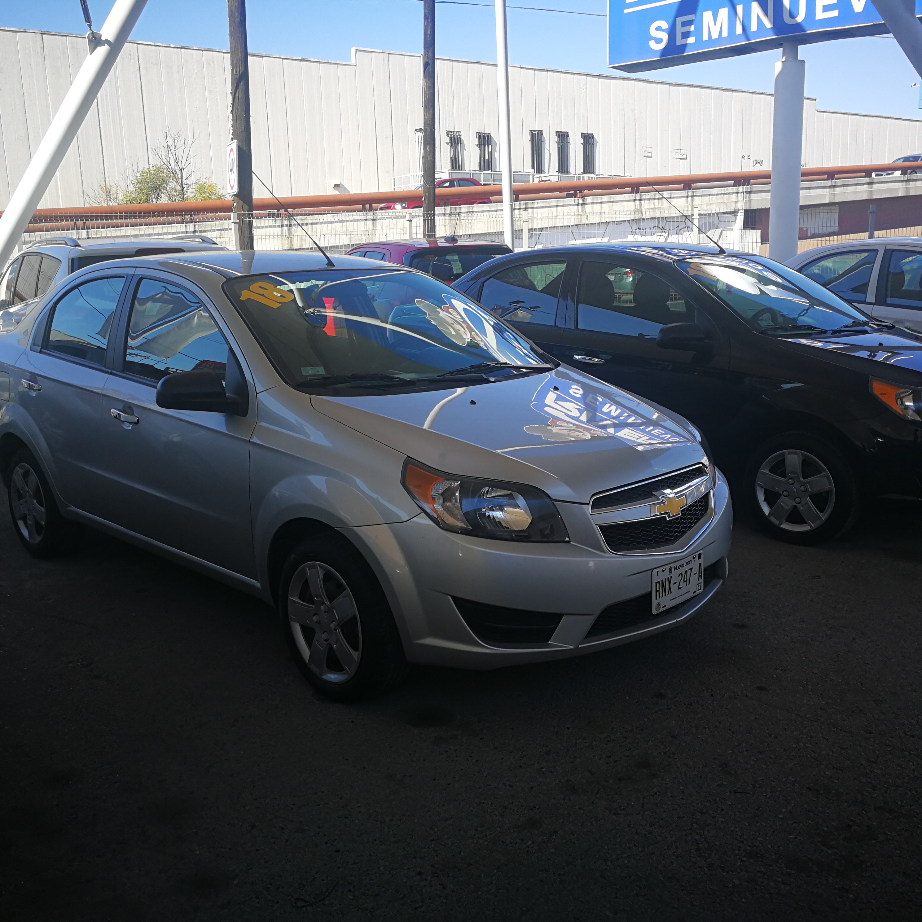 Pre-Owned 2018 CHEVROLET AVEO W